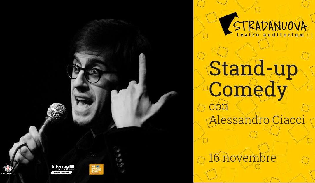 Alessandro Ciacci all'Auditorium Strada Nuova di Genova