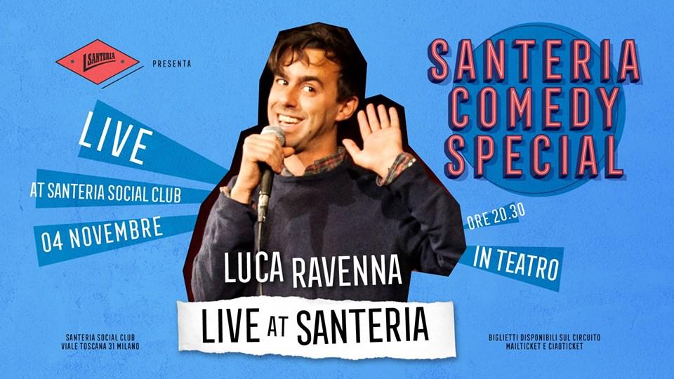 Luca Ravenna al Teatro del Santeria Social Club di Milano