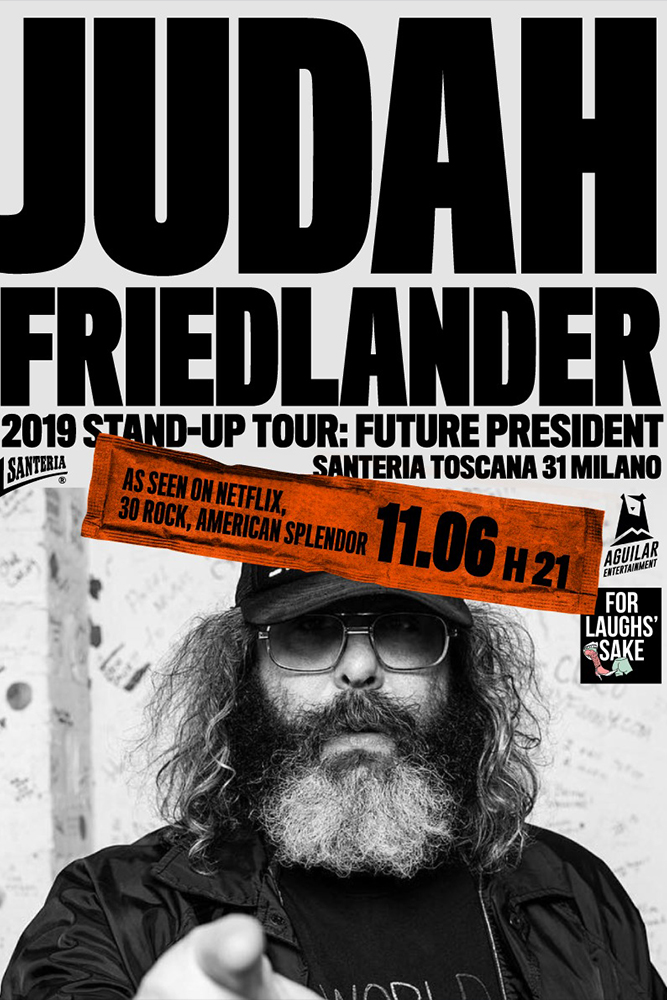 Judah Friedlander...
