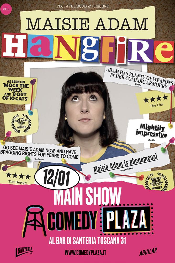 """Maisie Adam """"Hang Fire"""""""