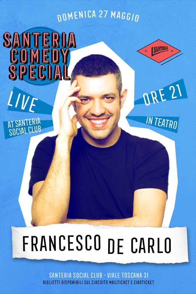 Francesco De Carlo Live...