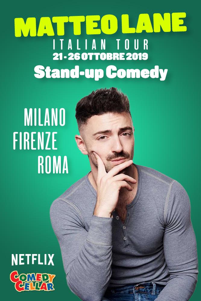 Matteo Lane Italian...